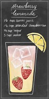 Summer Drinks III Framed Print