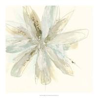 Floral Impasto I Framed Print
