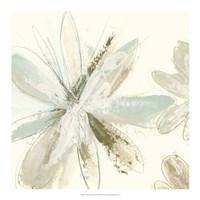 Floral Impasto III Framed Print