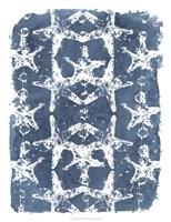 Batik Shell Patterns II Framed Print