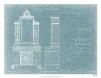 Chippendale Chest & Bookcase Fine Art Print