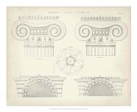Greek & Roman Architecture VIII Fine Art Print
