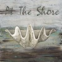At the Shore I Framed Print