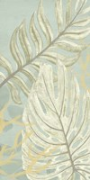 Palm & Coral Panel II Framed Print