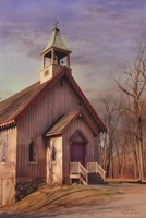 Eckley St. James Church Fine Art Print