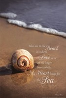 Take Me To The Beach Fine Art Print