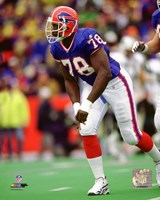 Bruce Smith 1998 Action Fine Art Print