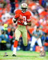 Jerry Rice 1986 Action Fine Art Print