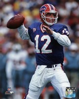 Jim Kelly 1994 Action Fine Art Print