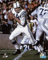 Johnny Unitas 1967 Action Fine Art Print