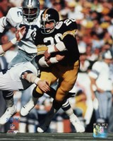 Rocky Bleier Super Bowl X Action Fine Art Print