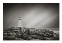 Peggy's Cove Lighthouse Fine Art Print