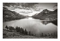 Waterton Sunset Fine Art Print