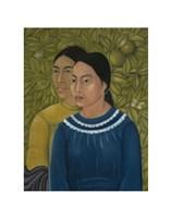Dos Mujeres (Salvadora y Herminia), 1928 Fine Art Print