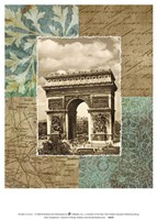 Paris Scrapbook I Fine Art Print