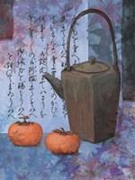 Blue Teapot Fine Art Print