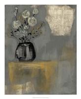 Floral Salon II Framed Print