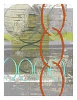 Linking  I Framed Print