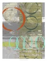 Linking  II Framed Print