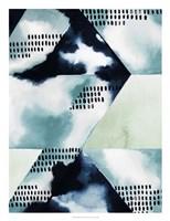 Blue Billow I Framed Print