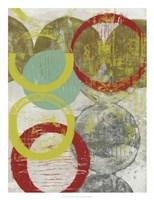 Layers & Circles II Framed Print