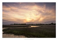 Low Country Sunset I Framed Print