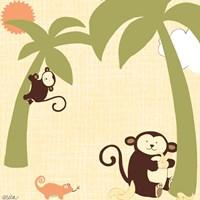 Baby Jungle II Fine Art Print