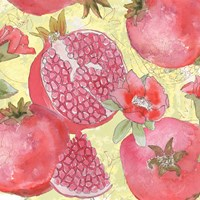 Pomegranate Medley II Framed Print