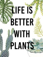 Plant Love III Framed Print