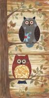 Two Wise Owls Fine Art Print