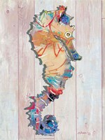 Seahorse II Framed Print