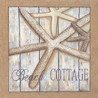 Beach Cottage I Fine Art Print
