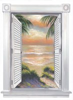 Window View I Fine Art Print