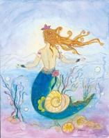 Shelby Mermaid Fine Art Print