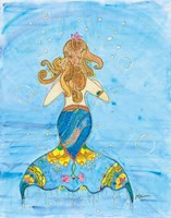 Fiona Mermaid Fine Art Print