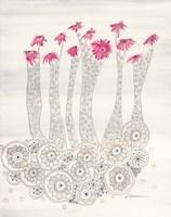 Pink Aster Fine Art Print