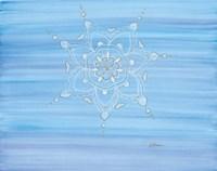 Lace Mandala Framed Print