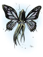 Muted Squiderfly Fine Art Print