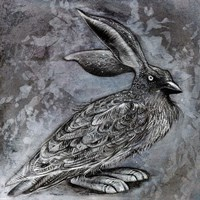 Raven Rabbit Fine Art Print
