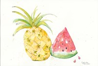Juicy Fruits Fine Art Print