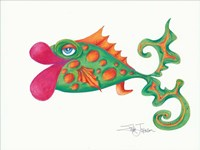 Flamboyant Fish II Framed Print