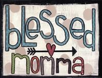 Blessed Momma Fine Art Print