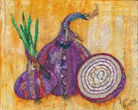 Red Onion Fine Art Print