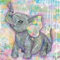 Sweet Baby Elephant II Framed Print