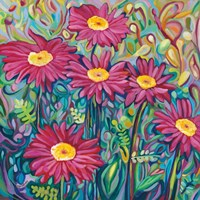 Happy Daisies Fine Art Print