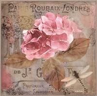 Jardin Rouge II Framed Print
