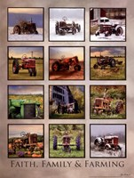 Faith, Family, & Farming Fine Art Print