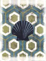 Coastal Patterns I Fine Art Print