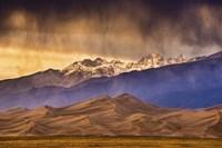 Desert and Mountains Fine Art Print