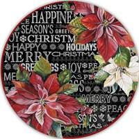 Christmas Chalkboard Fine Art Print